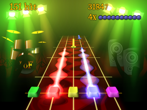 Frets on fire - Incendia tu teclado con este clon de Guitar Hero libre!